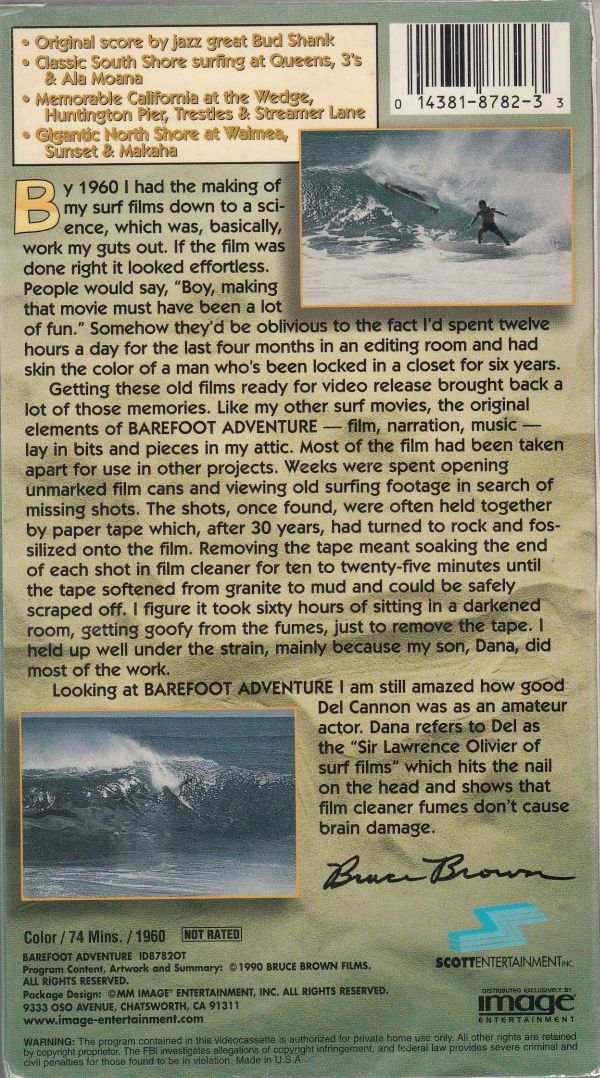 Bruce Brown - Barefoot Adventure