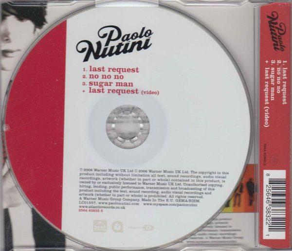 Paolo Nutini Last Request MCD